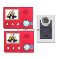 Wireless Night Vision Camera with Door Phone Monitor