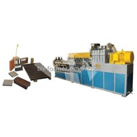 Wood-Plastic Composite One-Step Composite Line / Wood Plastic Composites Production Line