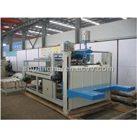 ZXJ series semi-automatic carton gluer machine