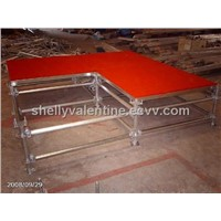 aluminum moving stage for concert,show