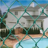 chain link fence/ diamond wire mesh /rhyombus wire mesh
