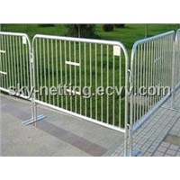 factory price crowd control fence  system(flat base)