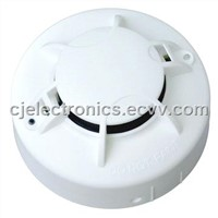 fire alarm-AC/DC Powered Photoelectric Smoke Alarm