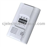 fire alarm-AC Powered Plug-In Combustible Gas & Carbon Monoxide Alarm
