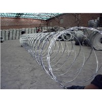 galvanized razor barbed wire fence (direct factory )
