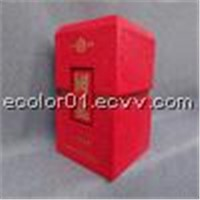 good price wine box leather wine box painted leather alcohol can box