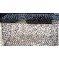 hexagonal gabion for flood and river control