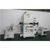large size hydraulic roll to roll die cutting machine