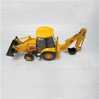 metal bulldozer model