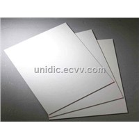 pcb drilling material-white melamine laminated wood backup board