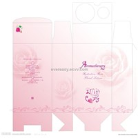 printed paper cosmetic packing box