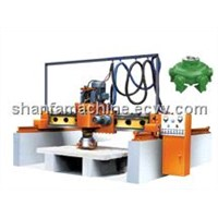 stone machine of bridge type single-head grinding and polishing machine