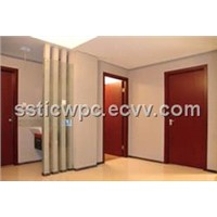 wood plastic door