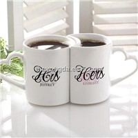 bone china couple mugs, porcelain lover cups