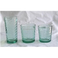 high quality machine made color glasses,drinking glasses,water glasses,glass cup
