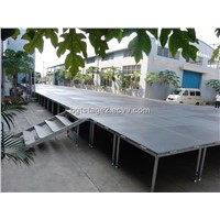 portable & mobile decent stage for outdoor events