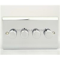 4 Gang 2 Way Dimmer Switch, Rotary