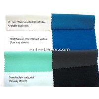Water Resistant and Breathble Fabric