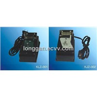 Charger for Miner's Cap Lamp, cap lamp charger