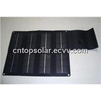 12W/5V/2.4A Mono Foldable USB Solar Charger for Ipad