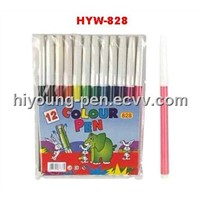 12 pcs water color pen for a set(HYW-828)