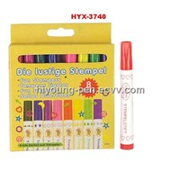 6pcs stampe water color  for set (HYX-3740)
