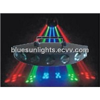 BS-8706,308pcsX5mm RGB LED 7 Eye Moon Flower Light,red green blue light,stage light