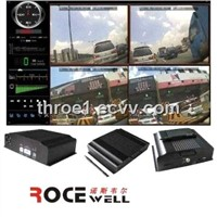 H.264 car vehicle Realtime video Mobile DVR (RC-8004H3C-X)could be added 3G GPS GSM