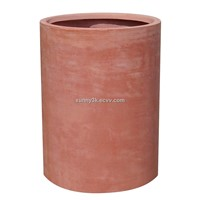 High plain cylinder flower pot(SFT8033)