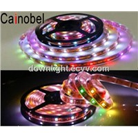 Hot sales LED RGB flexilbe strip SMD 5050-60 LED waterproof CE RoHs FCC