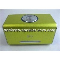 Multimedia portable mini speaker