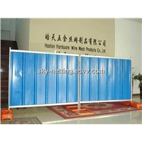 PVC Coated Steel Hoarding /Color Plate (Factory Price)