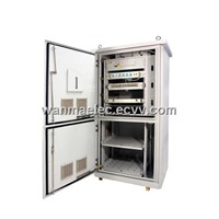 SPX3-FI02 IP55/NEMA Telecom Outdoor Cabinet with heat exchanger