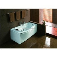 Simple High quality single massage bathtub with CE