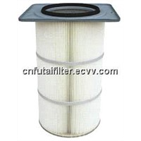 Square Flange Top Filter Cartridge