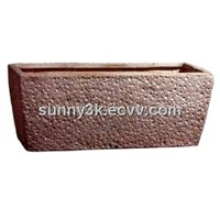 Trough fibrestone pot(SFL8012)