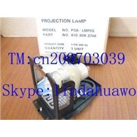 100% Quality Guaranteed, New&Original Projector lamp (bulb) POA-LMP55 used for SANYO PLC-XU48/XU50/X