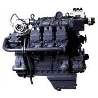 188kw/1500rpm 210kw/1500rpm Single Point Diesel Deutz Generator Engine BF6M1015GCP