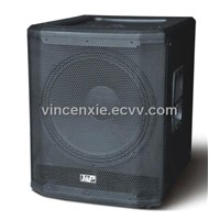 18 inch passive/active Pro Sound  Subwoofer box with wooden case