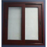1.6mm thickness white material aluminum sliding windows for office building window