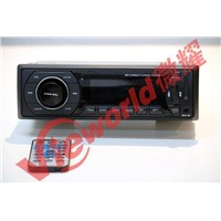 Single DIN Car mp3 player with USB,SD and FM On dashboard