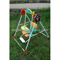 2012 Luxury Foldable Children Swing with Foot Stand,Music