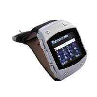 2012 New Arrival Waterproof 1.6 Inch Touchscreen Bluetooth FM Quad Band Watch Mobile Phone K820