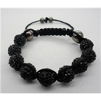 2012 New High Quality Shamballa Bracelet  With Crystal Disco Ball 2008001