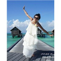 2012 New style Women cotton FREE size long dress, beach dress/casual dress, bohemia cotton dress