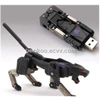 2012 Transform USB Robot Flash Drive Robot Dog USB Pen Drive