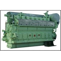 2500 / 3000 KW Three Phases, Six Wires Marine Diesel Generator Sets