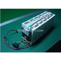 36V 10AH LIFEPO4 Pack for electric bicycle