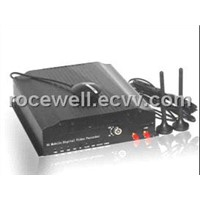 3G GPS Wireless Remote 4CH Realtime security Surveillance Track Car Mobile DVR (RC-8004H3C-1)