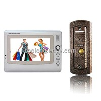 4-Wire Video Door Intercom for Home Rainproof Camera / Video Camera